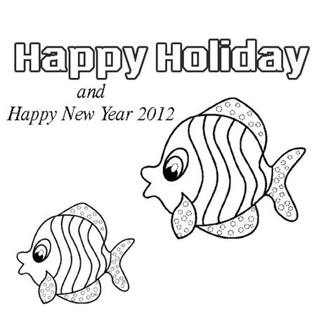 New Year 2012 Free Colouring Pages New Year Animals Coloring Pages