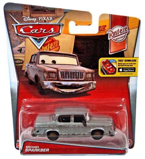Boneka Rusteze Car disney pixar cars rust eze racing michael sparkber 155 diecast car 612 mattel toys toywiz