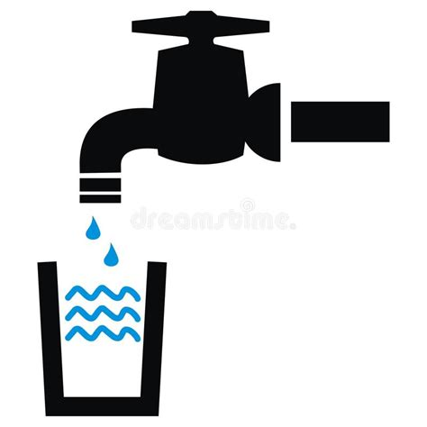 Logo Robinet by Faucet Symbol Stock Vector Illustration Of Sign Icon