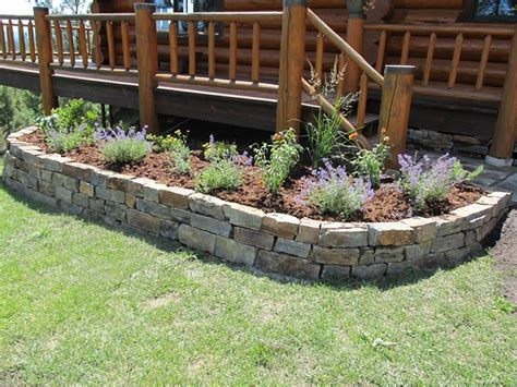 flower bed stones stone flower beds walls patios steps stepping