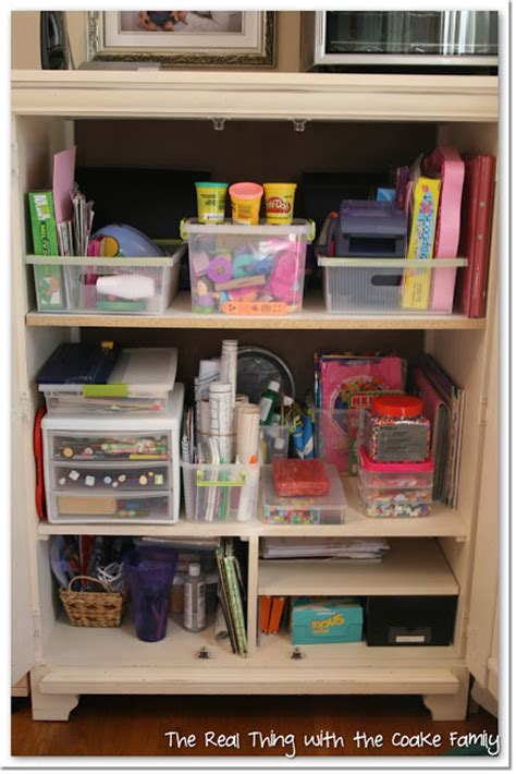 Craft Desk Organization Ideas Organizing Ideas Crafts Office The Real Thing With The Coake Family