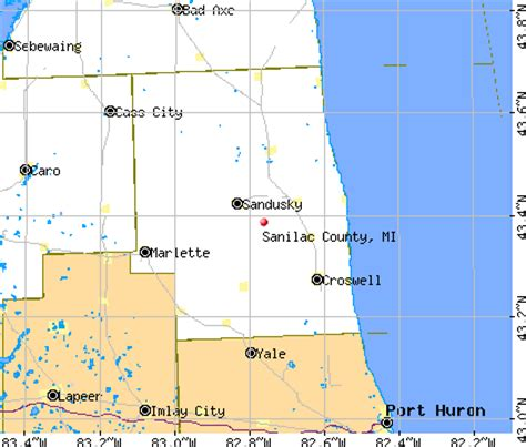 Sanilac County Property Records Sanilac County Michigan Detailed Profile Houses Real Estate Cost Of Living Wages