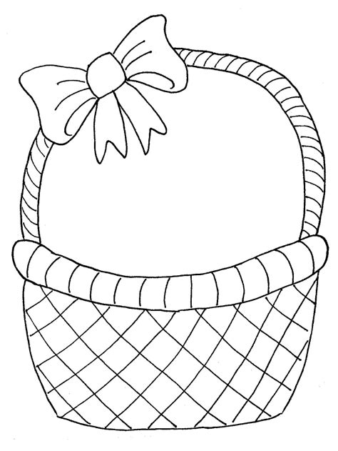 card basket template card easter basket templates hd easter images