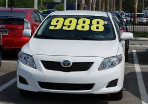 used car or new find affordable new toyota specials in n