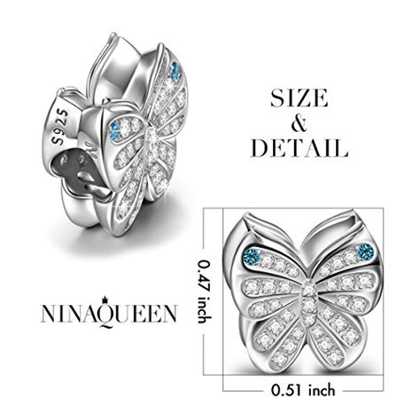 Magic Cloth Spesial Pandora Ori ninaqueen quot butterfly quot 925 sterling silver blue charms