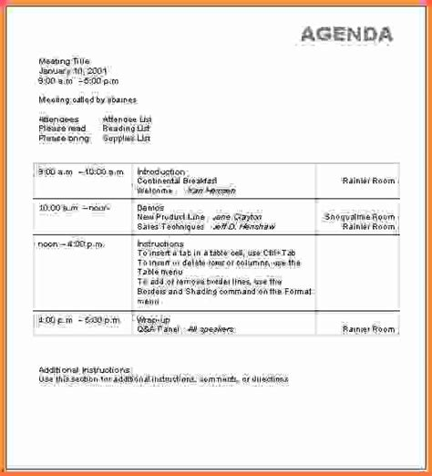 sales meeting report template doc 600730 sales meeting agenda sle 12 sales