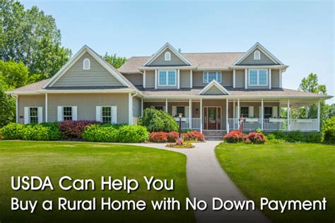usda rural housing loans usda loans 100 financing to home buyers in rural areas