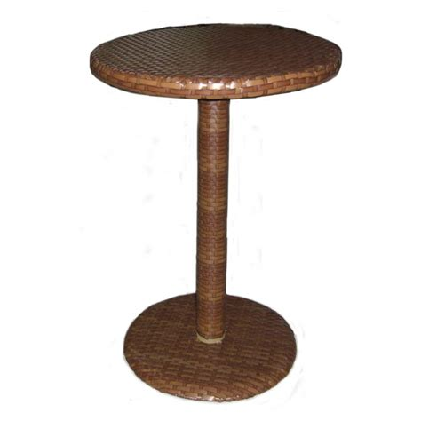 Rattan Bar Table Panama St Barths 30 Quot Wicker Pub Table Wickercentral