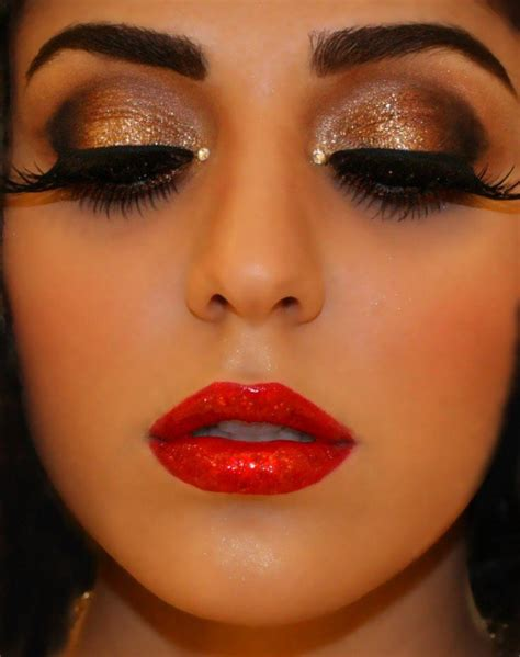 2015 shimmer eye makeup tutorials for occasions