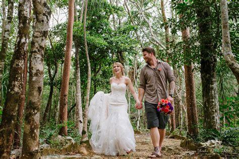 Off Resort Wedding in Tulum Cenote   Wedding Photographers