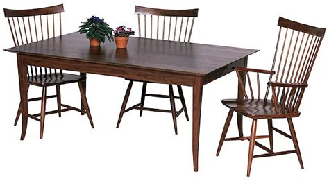 shaker dining room table shaker style dining room table plans woodideas