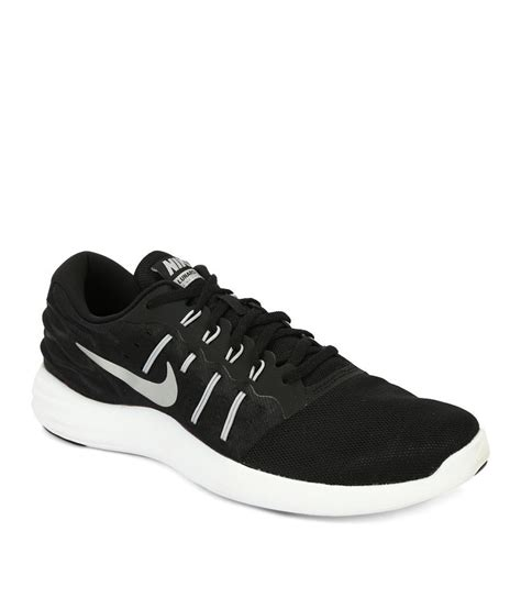 black nike running shoes nike nike lunarstelos black running shoes buy nike nike