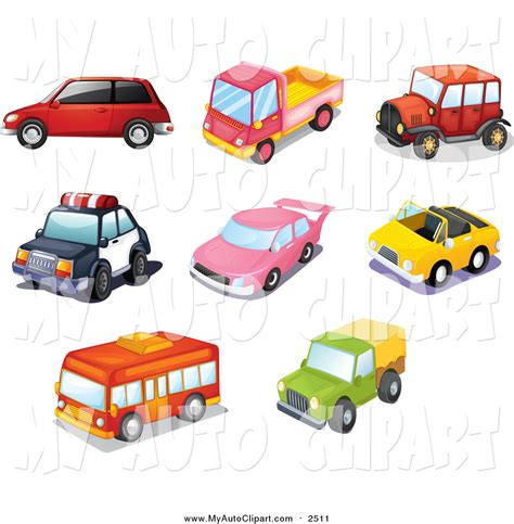 car toy clipart clip art of toy cars buses and trucks by colematt 2511