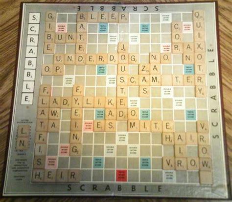 average scrabble scores the greatest scrabble played vs scrabble ii