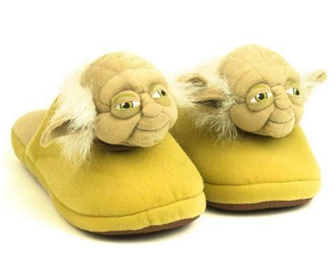 yoda slippers novelty slippers for children character