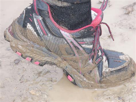 shoes for a mud run mud run