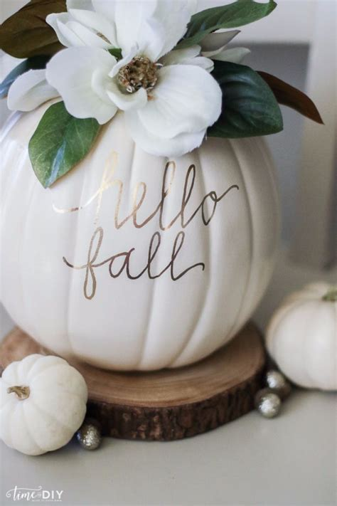 45 pumpkin decorating projects a life of simple joy 45 easy diy ideas for fall decorating