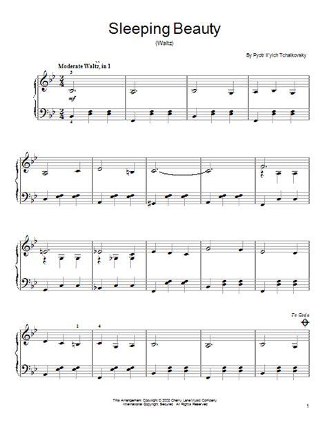 The Sleeping Beauty Waltz   Sheet Music Direct