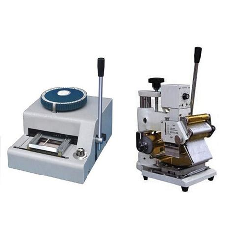 Plastic Card Machine Plastic Card Embossing Machine