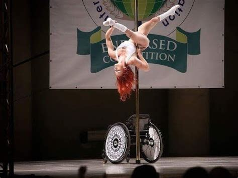 my wont stop me my wheelchair won t stop me being a pole dancer