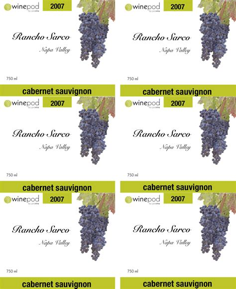 wine label template template free speedy template