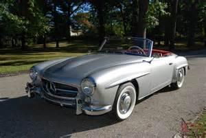 1957 Mercedes 190 Sl 1957 Mercedes 190 Sl Superb Restoration