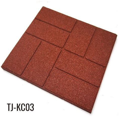 40cm 40cm outdoor recycled rubber tiles patio pavers china top