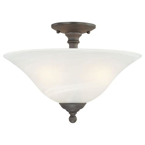 Ceiling Mount Lights by Lighting Riva 3 Light Painted Bronze Ceiling Semi