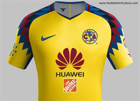 imagenes nike club america club am 233 rica 2018 nike third kit 17 18 kits football