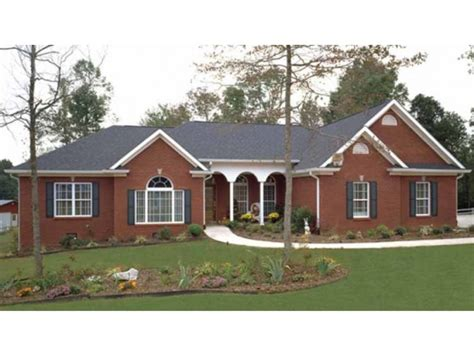 Ranch Style Homes Plans by Brick Ranch Style House Plans Painted Brick Ranch Style