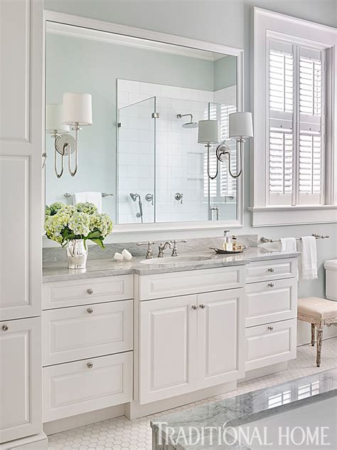 gray white traditional bathroom interior design ideas updated historic charleston home traditional home