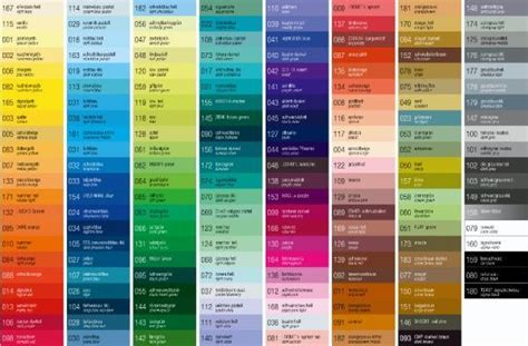 metallic paint color charts autos post