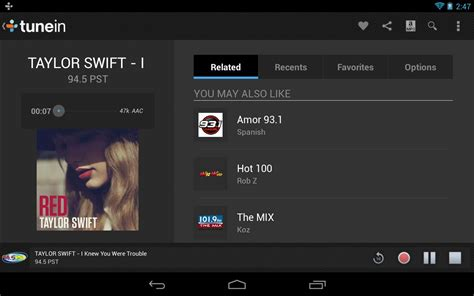 free apk for android tablet tunein radio pro apk 8 0 apk for android