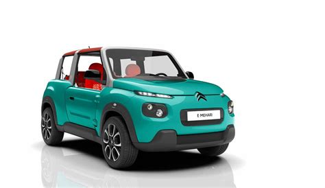 citroen cars citroen e mehari the electric beach buggy you can buy in