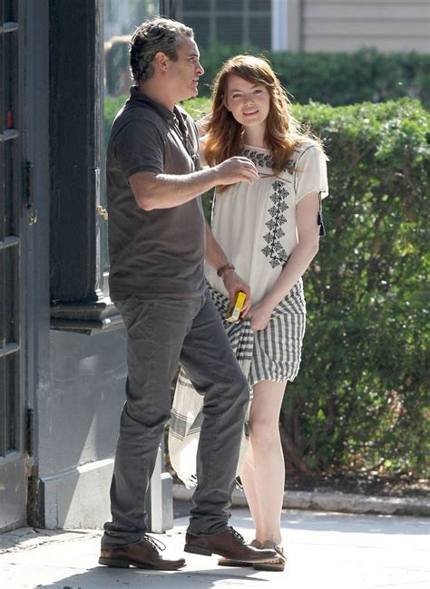 emma stone joaquin phoenix joaquin phoenix to star in woody allen s next movie