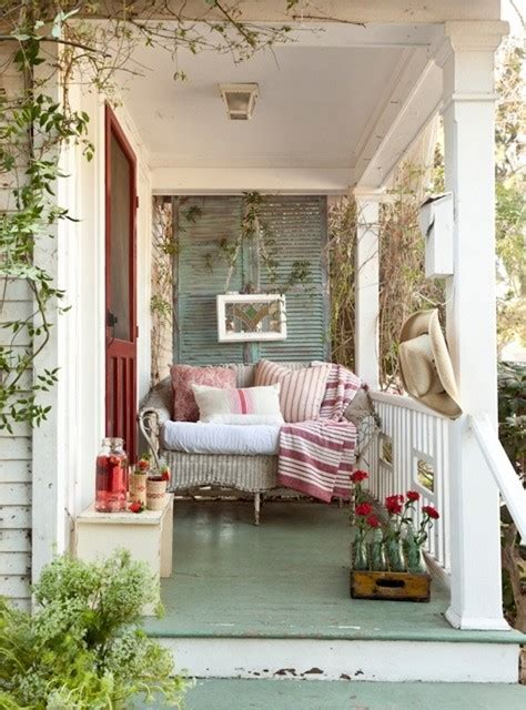 vintage inspired inglewood cottage shabby chic porch los angeles by tumbleweed and