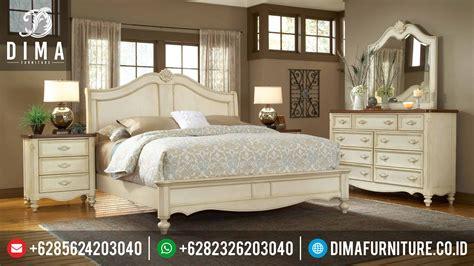 tempat tidur terbaru kamar set minimalis modern mewah american retro df  dima furniture jepara