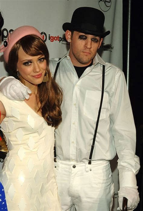 Joel On With Hilary by Musicians On 2005 Hilary Duff And Joel Madden