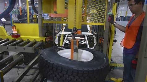 tire assembly machine ultimation ford avon lake ohio youtube