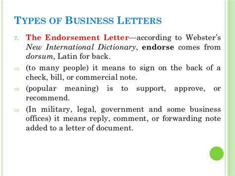 Types Of Business Letter And Definition Business Letters Types Images