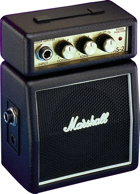 Marshall Ms 2 Portable Micro Lifier marshall ms2 mini guitar lifier zzounds
