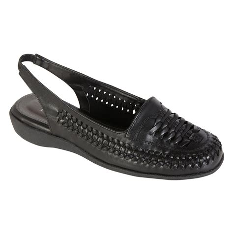 s casual flat shoes black find comfy shoes at sears