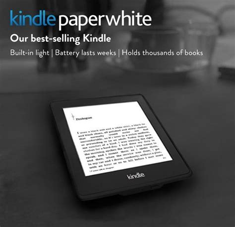 Gift Card For Kindle Ebooks - amazon kindle paperwhite 2gb wi fi 6in black 848719000139 ebay