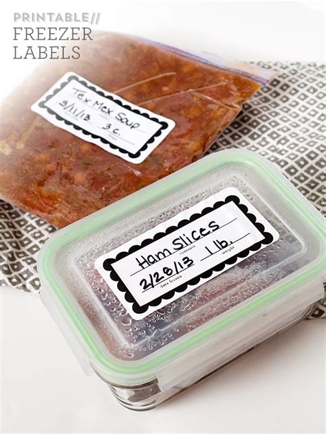 printable freezer labels sarah hearts printable freezer labels and recipes
