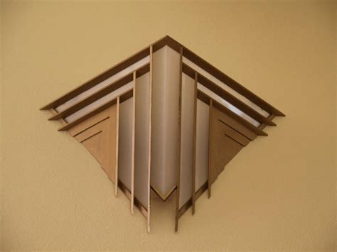 Frank Lloyd Wright Light Fixtures Elkins Park Pennsylvania Beth Sholom Synagogue Light Fixture