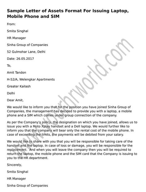 Official Letter American 8 Best Images About Hr Letter Formats On