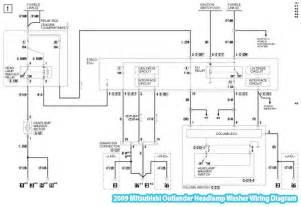 2009 mitsubishi outlander headl washer wiring diagram