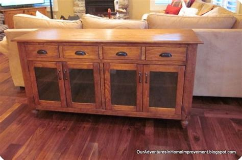 diy buffet cabinet woodworking projects plans