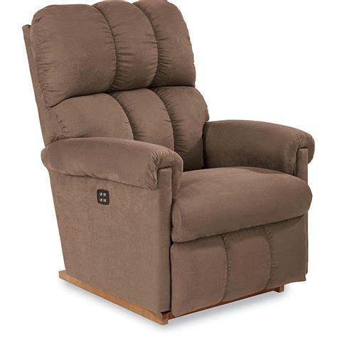 Sears La Z Boy Recliner by La Z Boy P10403 Aspen Power Rocker Recliner Driftwood Sears Outlet