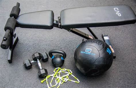 5 must pieces of fitness equipment to create your